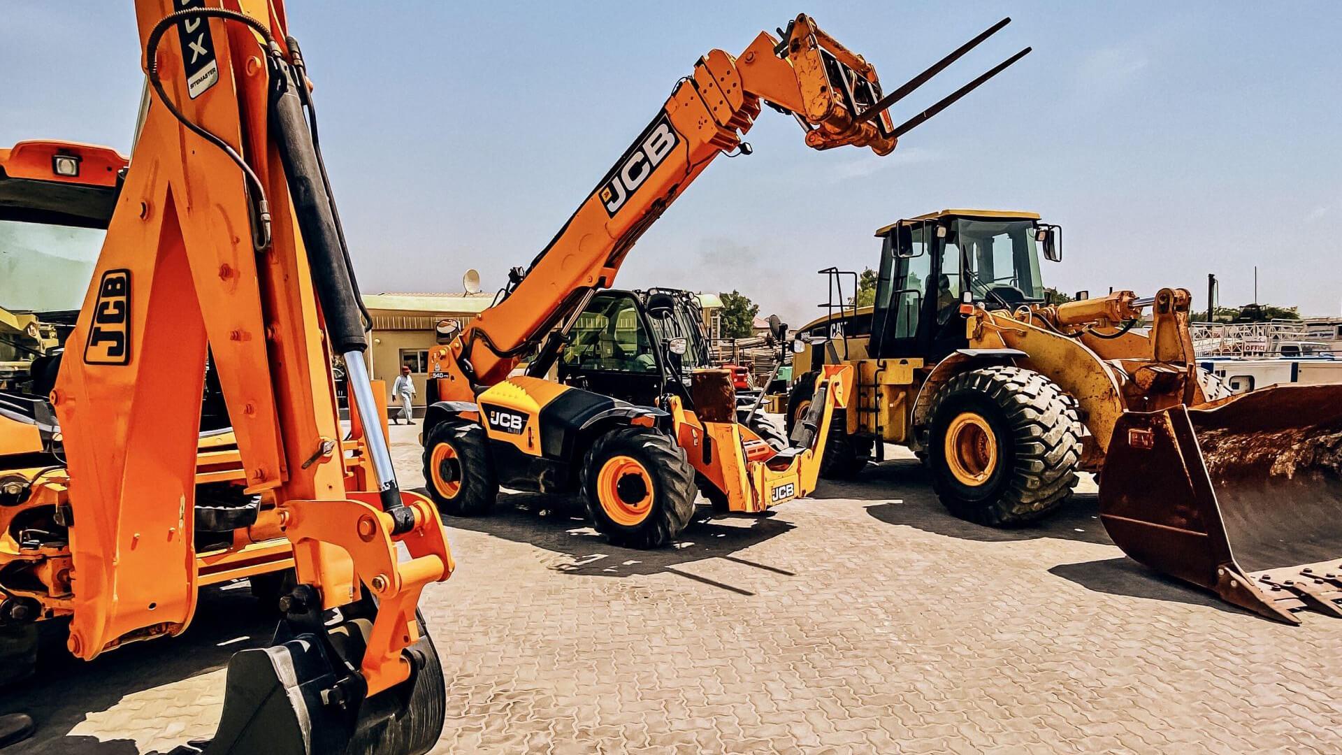 jcb machinery